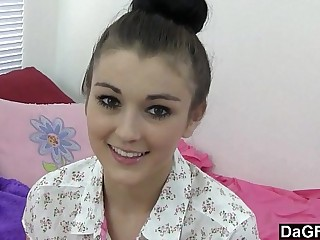 Dagfs - Nervous Teen Does Porn For The First Time 7 min